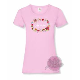 Tričko černé - MADE IN dámské