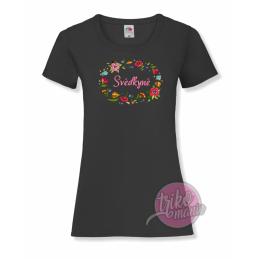 Tričko černé - VYROBENO dámské