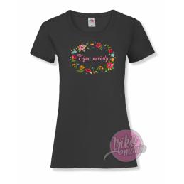 Tričko bílé - MADE IN dámské