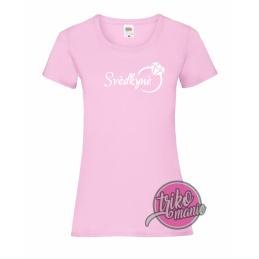 Tričko purpurové - Nevěsta